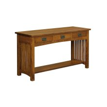 Bungalow 3 Drawer Sofa Table