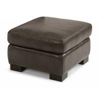 Blake Leather Ottoman Product Image