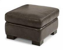Blake Leather Ottoman