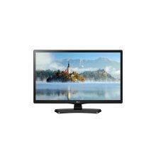 """White LG HD 720p LED TV - 24"""" Class (23.6"""" Diag)"""