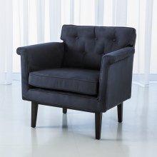 Emerywood Chair-Suede-Ink