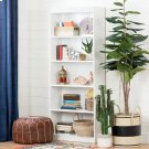 5-Shelf Bookcase - Pure White Product Image