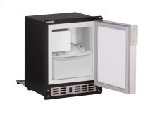 """Marine Series 15"""" Marine Crescent Ice Maker With Stainless Solid Finish and Field Reversible Door Swing"""