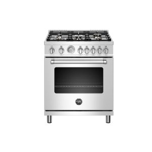 "Bertazzoni30"" Master Series range - Gas oven - 5 aluminum burners - LP version"