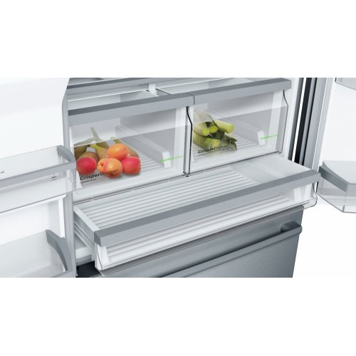 800 Series 36 inch Standard Depth French Door Bottom Freezer, B26FT50SNS, Stainless Steel Stainless Steel B26FT50SNS