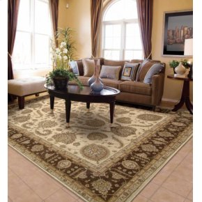 Heritage Hall He19 Bge Rectangle Rug 3'9'' X 5'9''