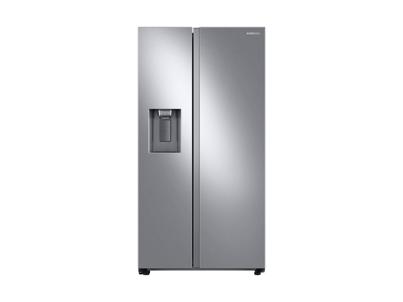 Samsung27.4 Cu. Ft. Large Capacity Side-By-Side Refrigerator In Stainless Steel