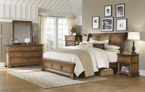 Queen Bed Low Profile FB