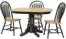 "Laminated 30""H Pedestal Table"