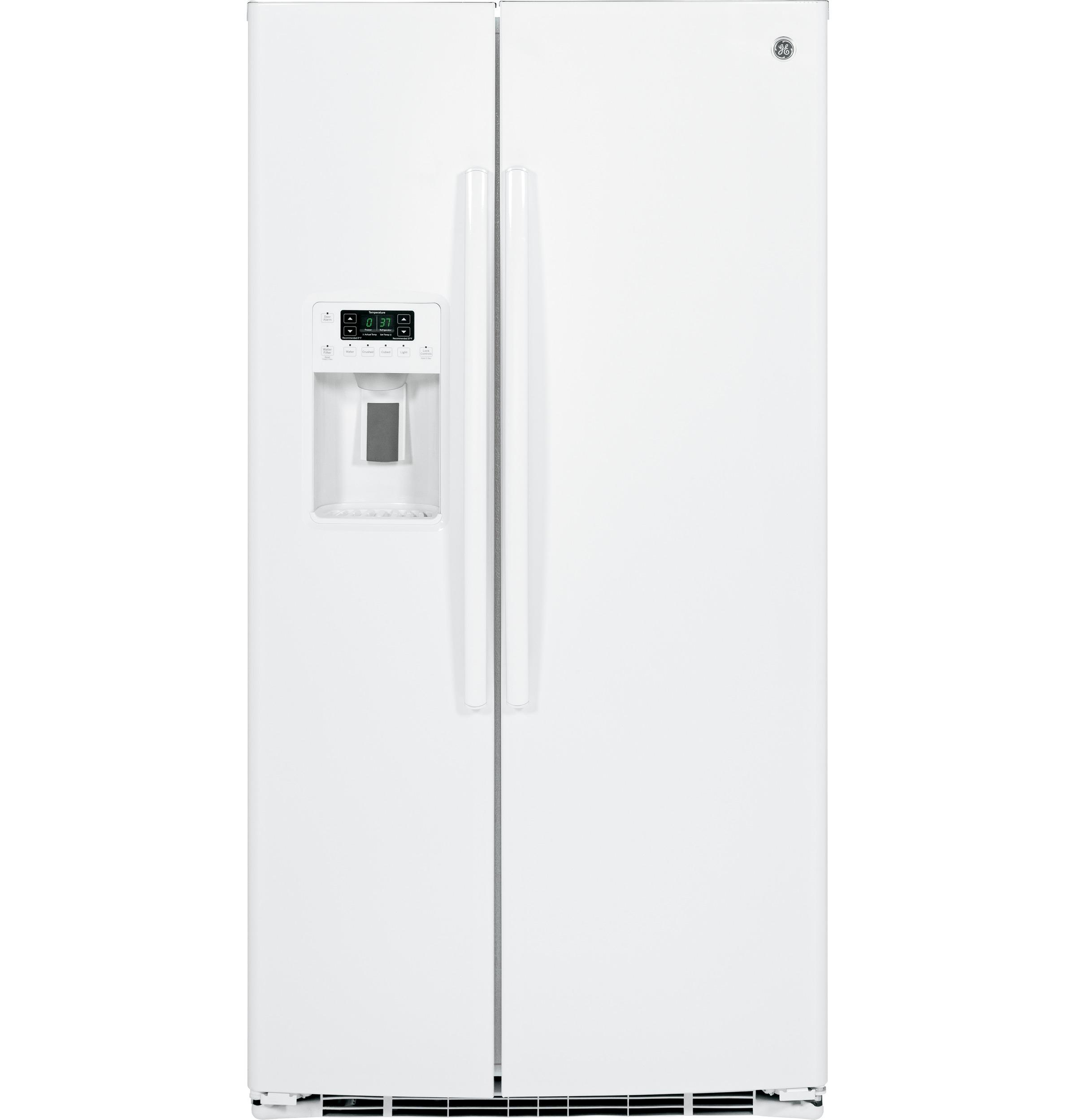 Gse25hghww Ge 174 Energy Star 174 25 3 Cu Ft Side By Side