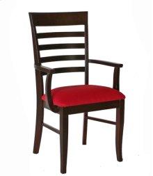 Burbank Arm Chair w/ Fabric Seat
