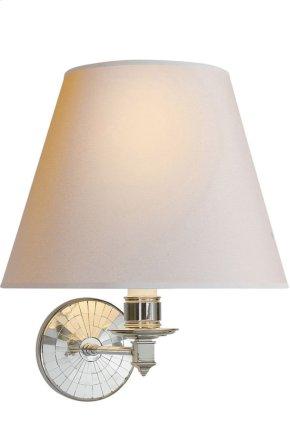 Visual Comfort AH2016PN-NP Alexa Hampton Ida 1 Light 12 inch Polished Nickel Decorative Wall Light