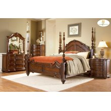 EASTERN KING POSTER BED