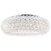 "Halo 25"" Acrylic Ceiling Fixture in"