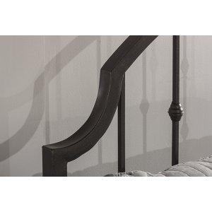 Westgate King Headboard With Frame - Rustic Black