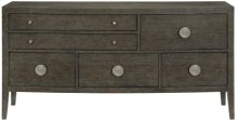 Linea Sideboard in Cerused Charcoal (384)