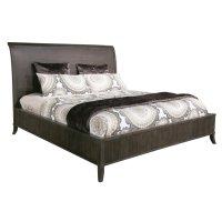 Urban Retreat California King Wood Sleigh Bed Product Image