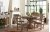 Additional Monteverdi by Rachael Ray Complete Round to Oval Pedestal Table
