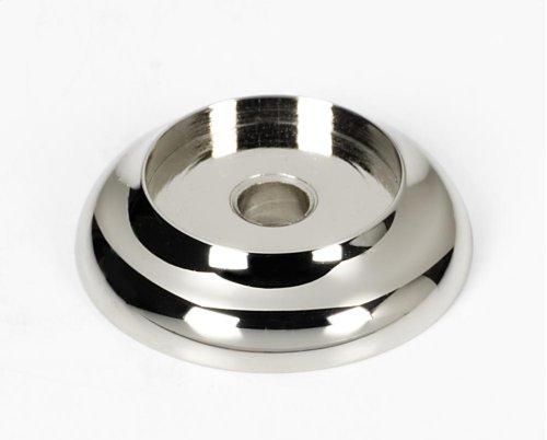 Royale Backplate A982-1 - Polished Nickel