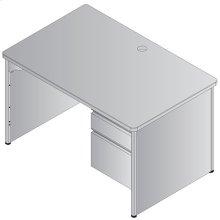 Metal Desk Right Pedestal 50x32
