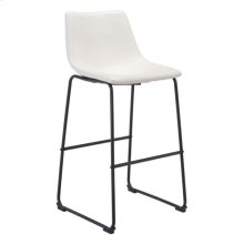 Smart Bar Chair Distressed White