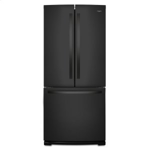 30-inch Wide French Door Refrigerator - 20 cu. ft. - BLACK