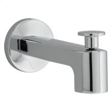 Moments Brass Diverter Tub Spout - Polished Chrome
