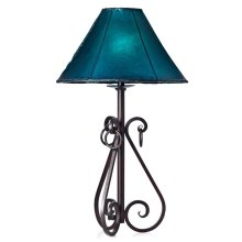 Forged Iron Table Lamp 002 (without shade)