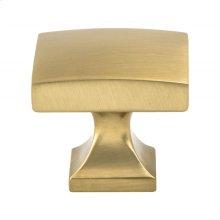 Century Edge Modern Brushed Gold Knob