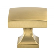 Century Edge Modern Brushed Gold Knob