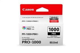 Canon PFI-1000 Photo Black Ink Tank Photo Black Individual Ink Tank