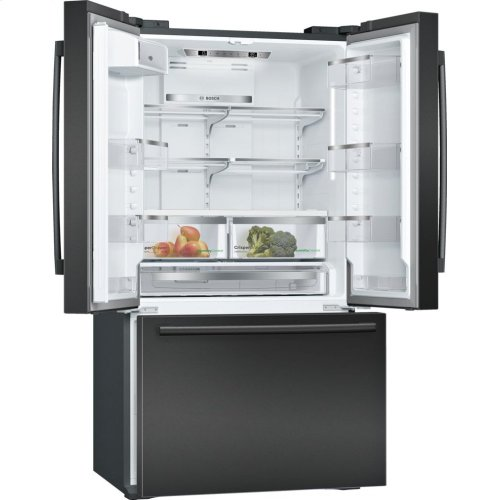 800 Series French Door Bottom freezer, 3 doors Black B21CT80SNB