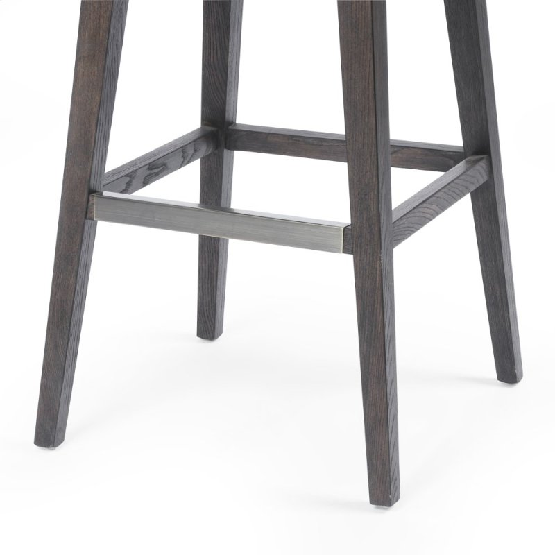 Bar Stool Size Distressed Black Cover Julie Swivel Counter