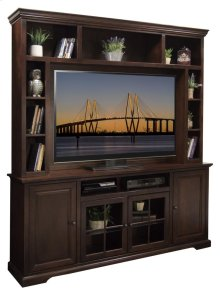 """Brentwood 79"""" Console & Hutch"""