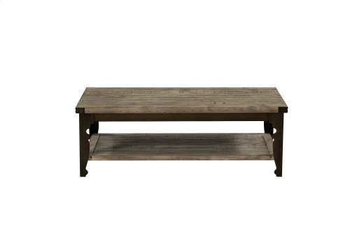 Emerald Home Valencia Cocktail Table-natural Reclaimed Pine Finish T559-00