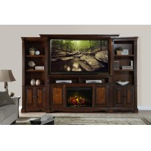 """Parliament 72"""" Fireplace Console"""