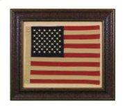 Small American Flag W/Matt Product Image