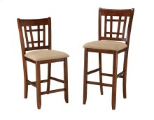 Mission Casuals Lattice Back Bar Stool