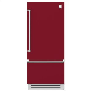 "Hestan36"" Bottom Mount, Bottom Compressor Refrigerator - KRB Series - Tin-roof"