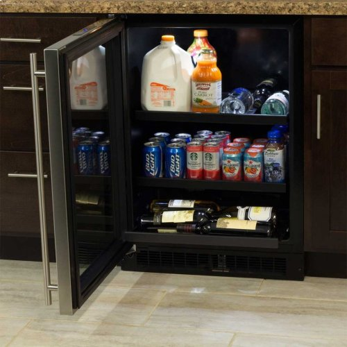 "Marvel 24"" Beverage Center with Convertible Shelves - Integrated Right Hinge"