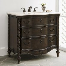 Ebony Sink Chest