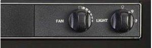 """24"""" 220 CFM Black Under Cabinet Range Hood"""