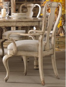 Wakefield White Splatback Arm Chair