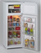 7.4 CF Two Door Apartment Size Refrigerator - White Product Image