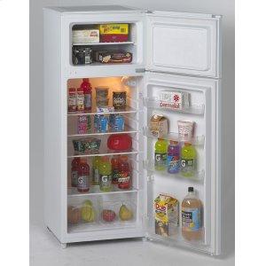 Avanti7.4 Cf Two Door Apartment Size Refrigerator - White