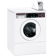 GE® 2.7 Cu. Ft. Capacity Commercial Frontload Washer with Stainless Steel Basket