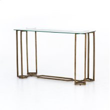 Naomi Glass Console Table