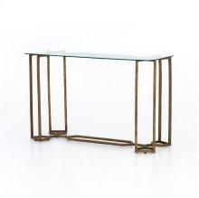 Naomi Glass Console Table