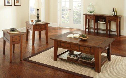 """Desoto End Table, Oak 23""""x27""""x24"""""""