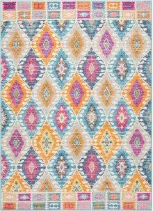 Passion Psn02 Multicolor Rectangle Rug 5'3'' X 7'3''